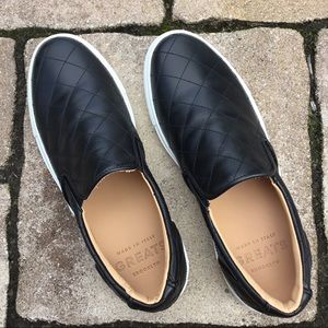 GREATS Brooklyn Wooster Quilted Leather Loafers